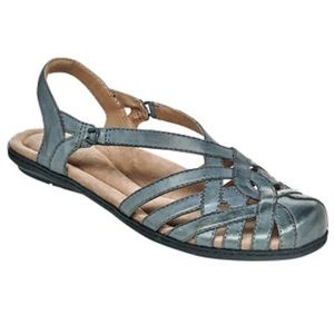 New Earth Origins Belle Brielle wide sandals